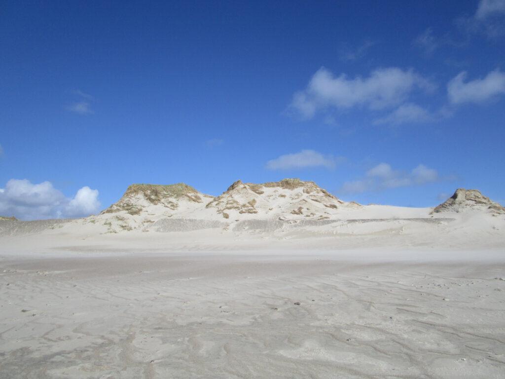 Weisser Sand am Strand